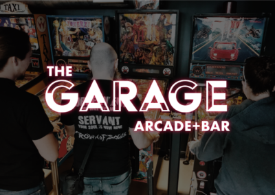 The Garage Arcade Bar